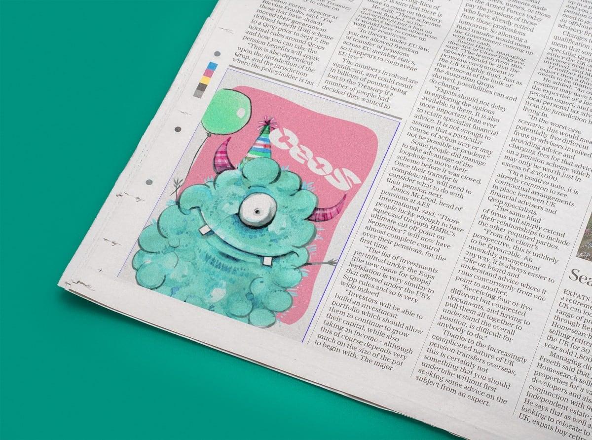 Ceos creativos en periodicos