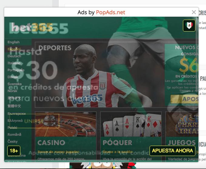 publicidad maliciosa en mi sitio wordpress