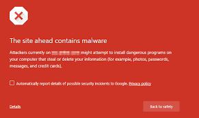 Google alerta de mi sitio hackeado