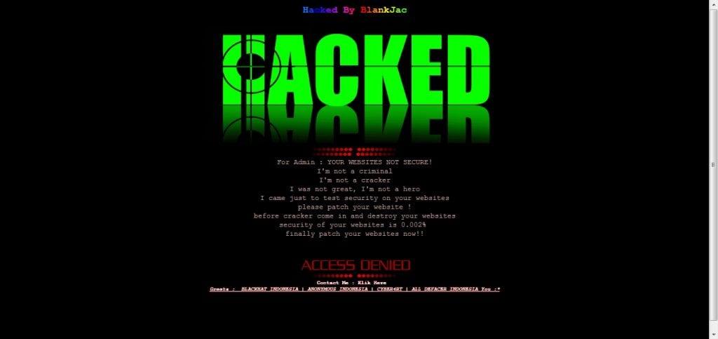 mi sitio de wordpress fue hackeado