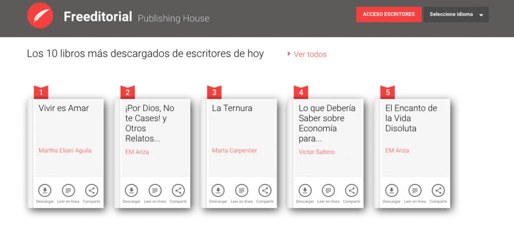 descarga libros desde freeditorial en español